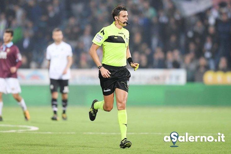 Riccardo Ros è l'arbitro della partita Crotone – Salernitana - aSalerno.it