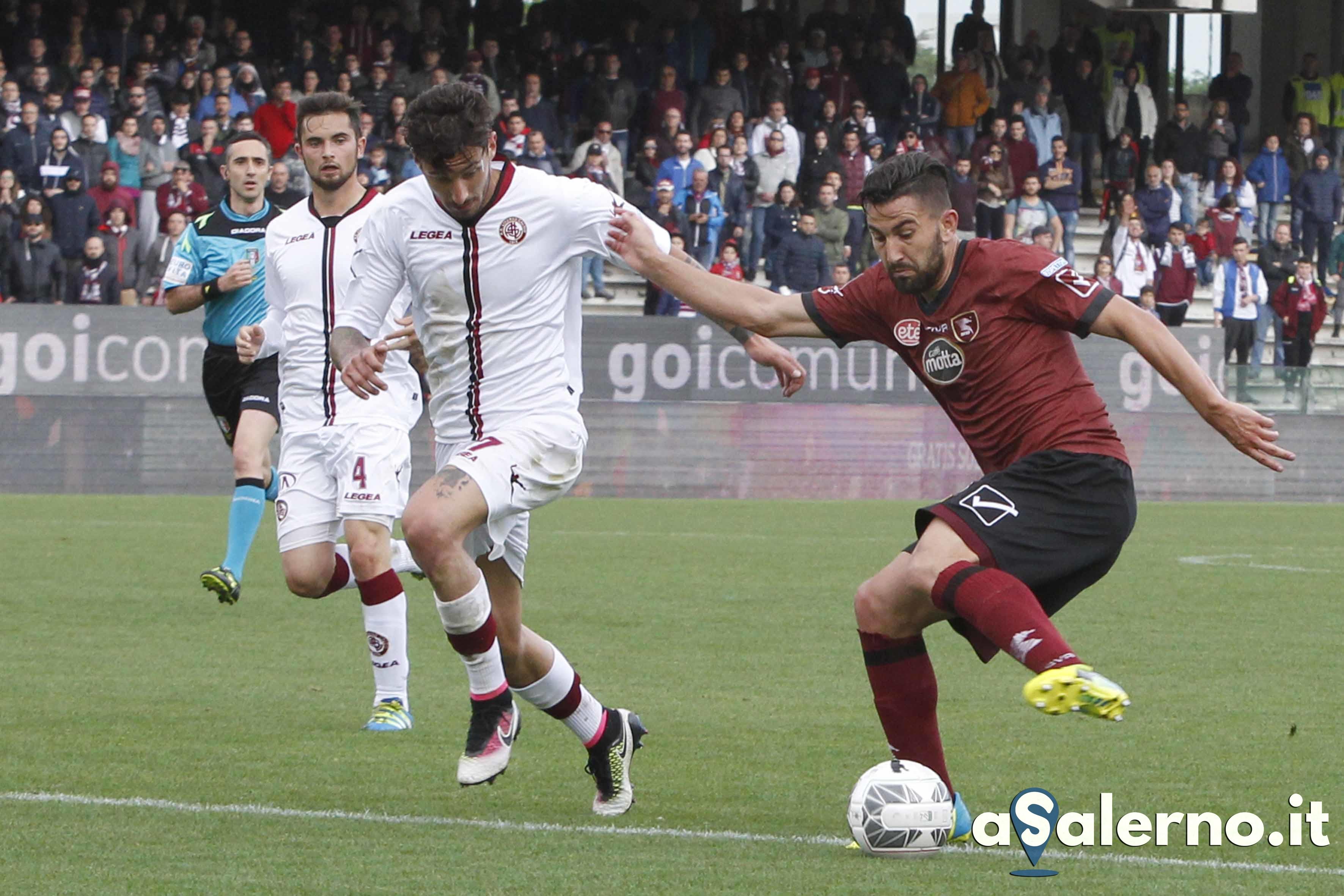 Salernitana - Livorno Campionato Serie B 2015-16