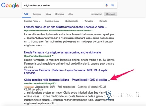 Farmaci illegali venduti su internet, la denuncia di Maria Carrano - aSalerno.it
