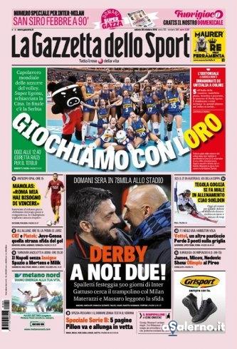 Rassegna Stampa | Quotidiani Nazionali, Sportivi ed Esteri - aSalerno.it