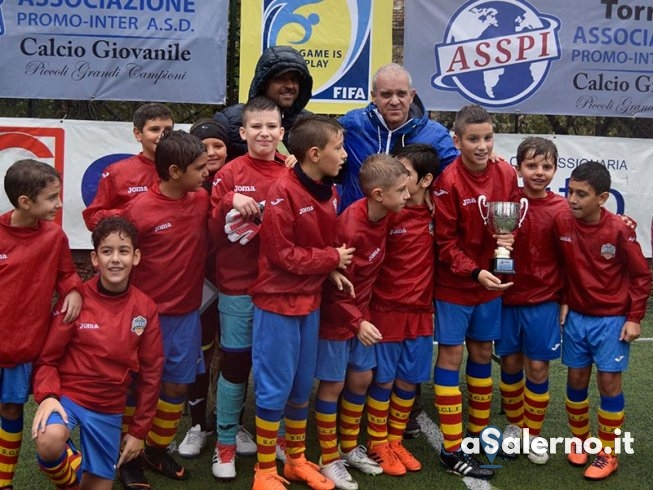 """Torneo """"Promo Inter-Piccoli grandi campioni"""", trionfa la Soccer Academy - aSalerno.it"""