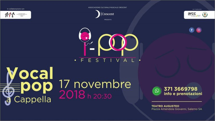 "Tutto pronto per ""I-Pop Festival"" a Salerno - aSalerno.it"