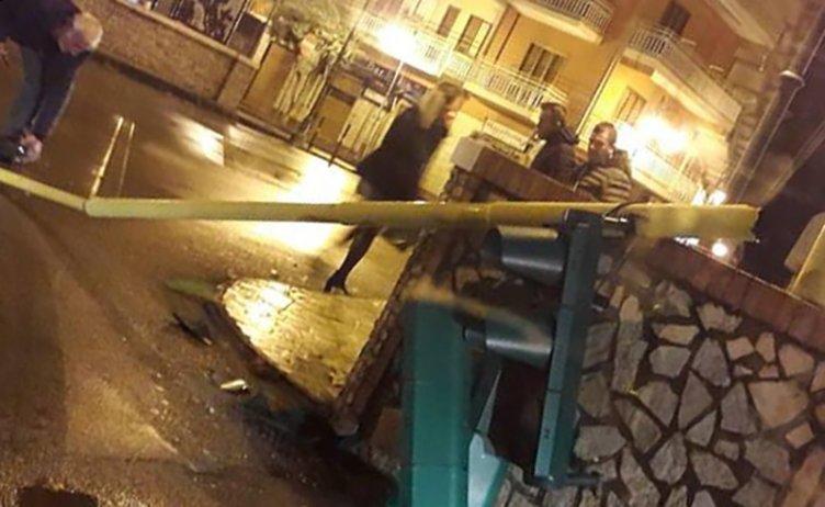 Allerta meteo nel Salernitano: provinciale negli Alburni diventa fiume in piena - aSalerno.it