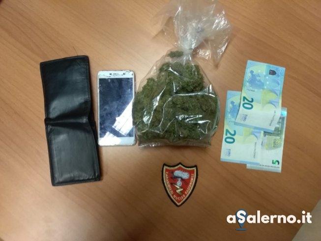 Novanta dosi di marijuana nelle mutande, arrestato 33enne - aSalerno.it