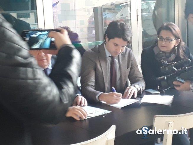 Casa del Diritto alla Salute, firmato il protocollo d'intesa - aSalerno.it