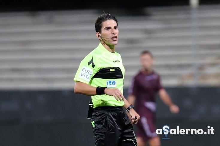 Federico Dionisi è l'arbitro di Salernitana – Spezia - aSalerno.it