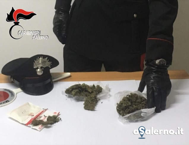 Altro che scheletri, nell'armadio 70 grammi di marijuana: arrestato giovane di Sassano - aSalerno.it