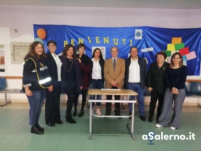 Mercato San Severino, associazione Il Sorriso dona un banchetto per i bimbi disabili - aSalerno.it