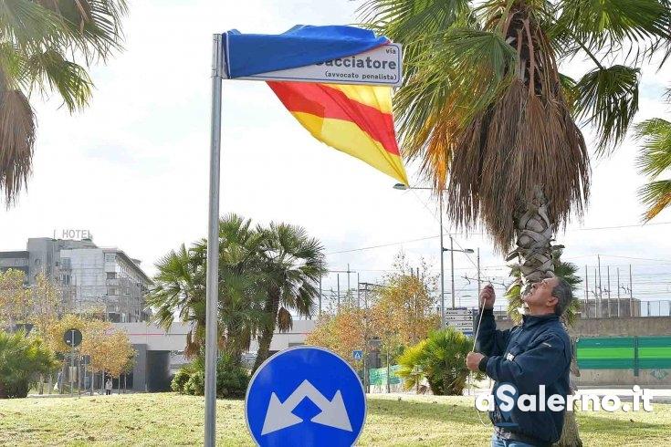 Dedicata una strada all'avvocato Diego Cacciatore - aSalerno.it