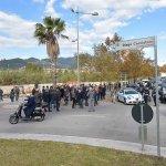 SAL - 16 11 2018 Salerno Intitolazione di via Diego Cacciatore. Foto Tanopress