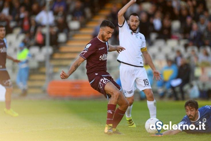Salernitana, colpisce il rapace Bocalon: Spezia sotto (1-0 pt) - aSalerno.it