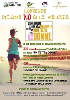 """""""No alla violenza sulle donne"""", insieme Cif di Minori e Centro Costa d'Amalfi - aSalerno.it"""