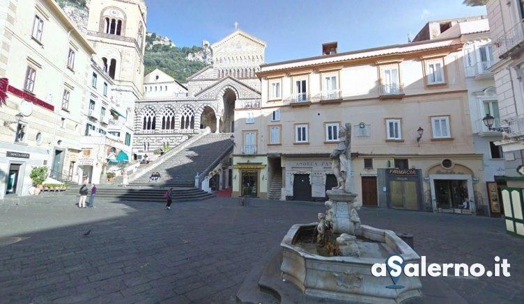 """Amalfi, """"nuova vita"""" per la fontana in marmo di Sant'Andrea - aSalerno.it"""