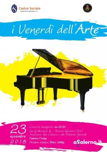 Il Venerdì dell'Arte: nuovo punto di riferimento per musica e cultura a Nocera Inferiore - aSalerno.it