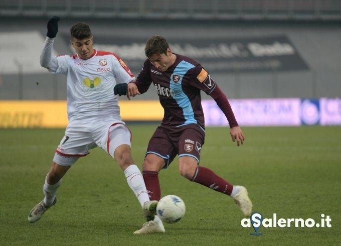 Salernitana, Pasciuti colpisce: 1 a 0 Carpi (pt) - aSalerno.it