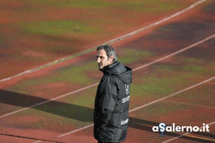 Primo allenamento di Gregucci, abbraccio con Bocalon - aSalerno.it