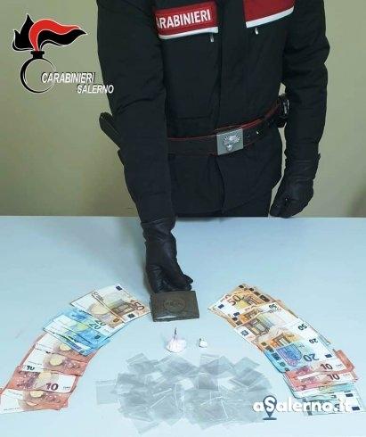 Hashish e cocaina in auto, arrestato 25enne incensurato - aSalerno.it