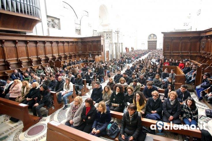 Il Regina Margherita in Cattedrale: messa ricordando Antonio e Andrea - aSalerno.it