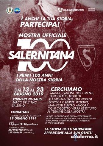 Una mostra per la storia: la perla del Centenario targata 19 giugno 1919 - aSalerno.it