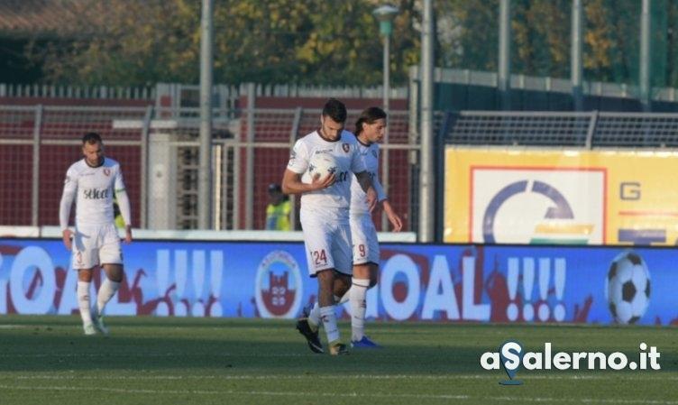 Salernitana, che Strizzolo: Cittadella in vantaggio (1-0 pt) - aSalerno.it