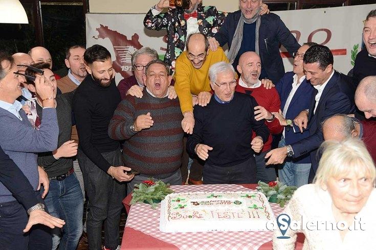 Fuochi e speranze, cena di Natale per il Salerno Club 2010 - aSalerno.it