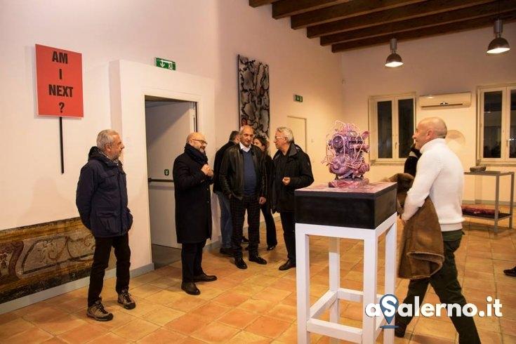 Arte la vigilia di Natale a Palazzo Fruscione - aSalerno.it