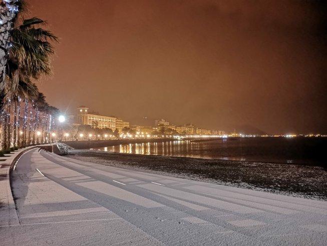 Un altro buongiorno innevato per Salerno e la sua provincia - aSalerno.it