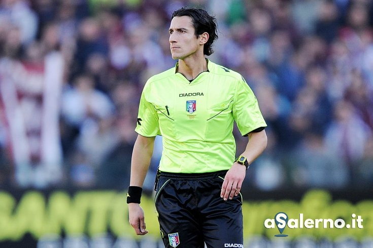 Antonio Di Martino è l'arbitro di Verona-Salernitana - aSalerno.it