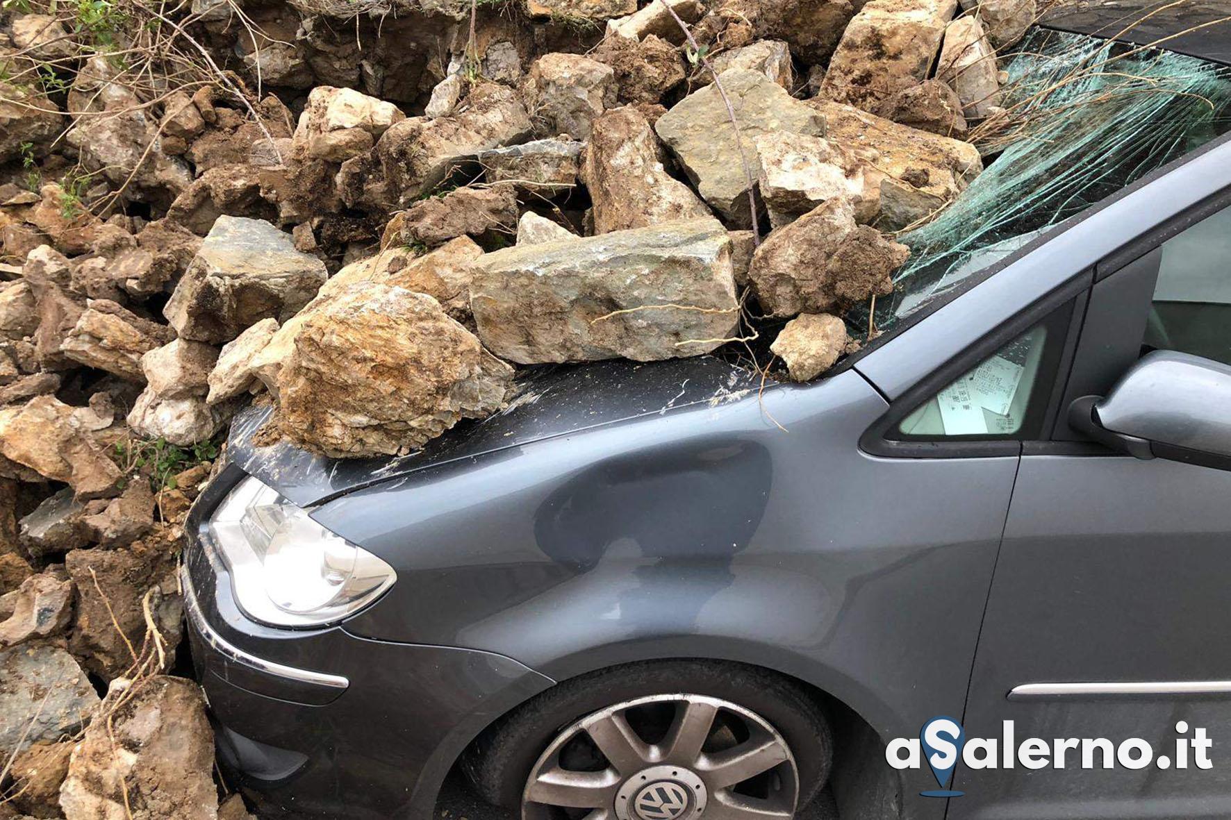 SAL - 25 01 2019 Ravello. Frana nei pressi dell'Auditorium.