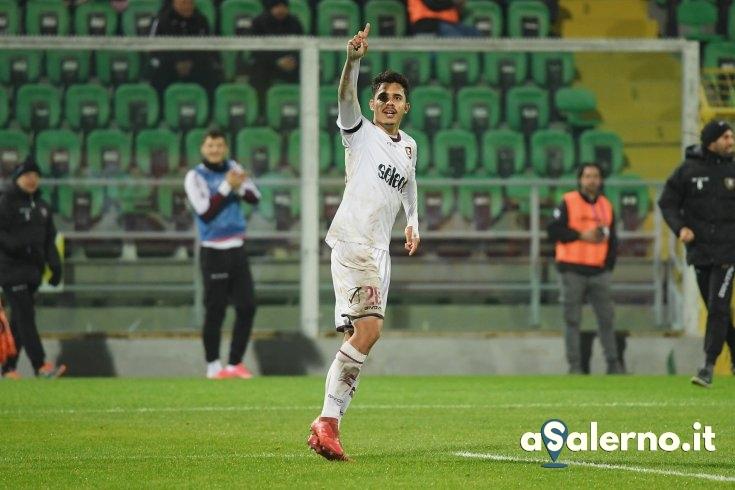 Salernitana, Andrè Anderson risponde a Jajalo: 1-1 a Palermo (pt) - aSalerno.it