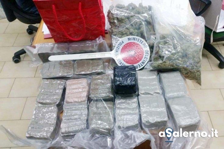 Hashish e marijuana, arrestata una 29enne salernitana del centro storico - aSalerno.it