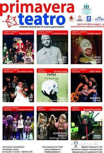 Pagani: secondo appuntamento con Primavera Teatro - aSalerno.it