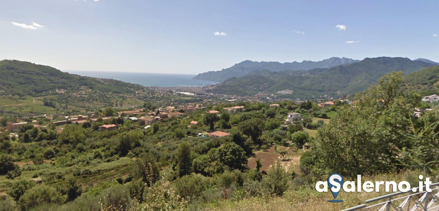 Vista sul Golfo di Salerno dal Parco del Montestella