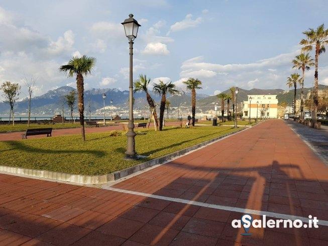 Lungomare Marconi: il nuovo volto dei giardini - aSalerno.it