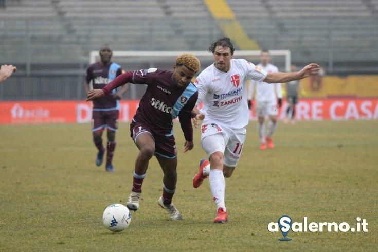 Salernitana, pioggia e paura all'Euganeo di Padova (0-0 pt) - aSalerno.it