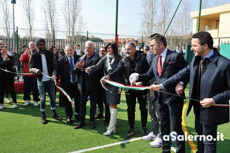 Liceo Severi, ecco la nuova struttura sportiva polifunzionale - aSalerno.it