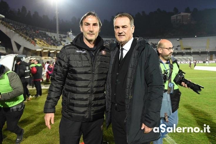 """Vivarini: """"La Salernitana è stata poco squadra ed ha sfruttato i calci piazzati"""" - aSalerno.it"""