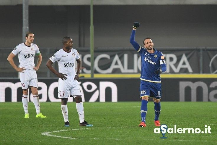 Salernitana, morde il sempreverde Pazzini: granata ko a Verona (1-0) - aSalerno.it