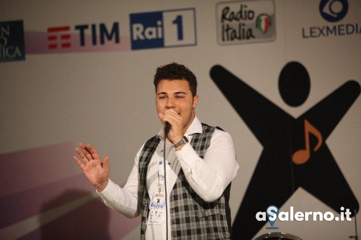 Il salernitano Alessio Mancuso alle selezioni di Sanremo Giovani - aSalerno.it