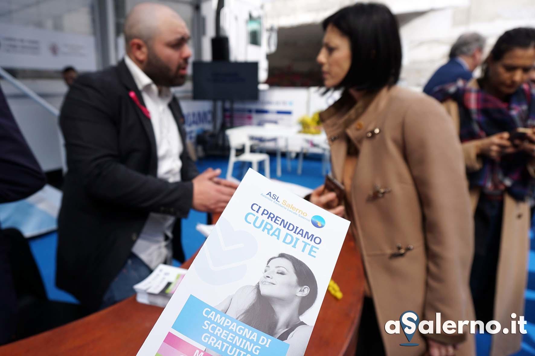 Sal - 08 03 2019 Salerno. Visite gratuite ASL piazza Casalbore. foto Tanopress