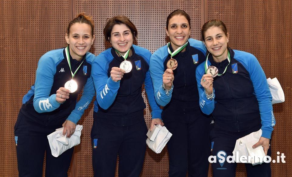 ITALIA Sciabola Femminile medaglia SINT NIKLAAS2019