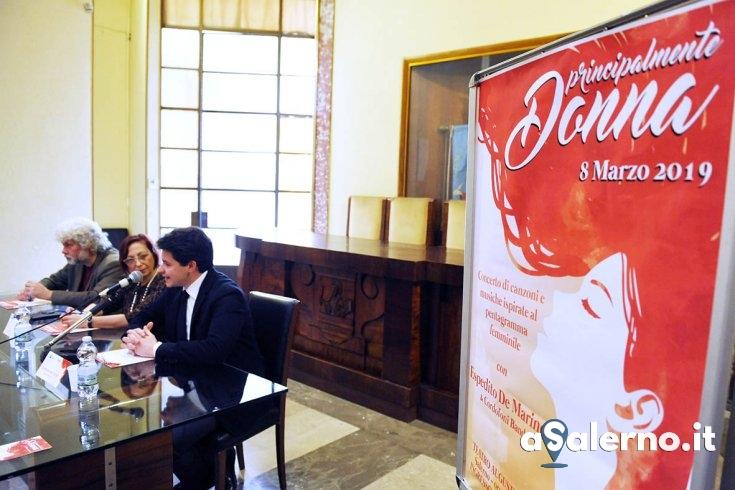 """""""Principalmente Donna"""", l'8 marzo il concerto-evento al Teatro Augusteo - aSalerno.it"""