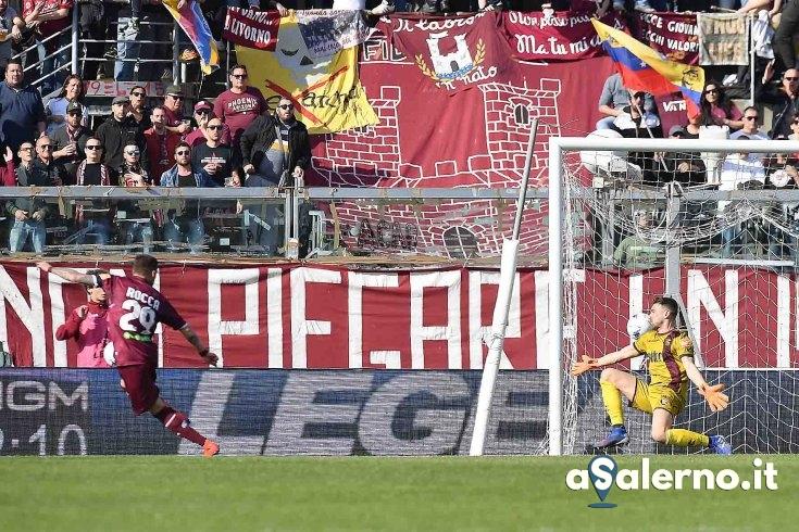 Salernitana, che Rocca: granata sotto a Livorno (1-0 pt) - aSalerno.it