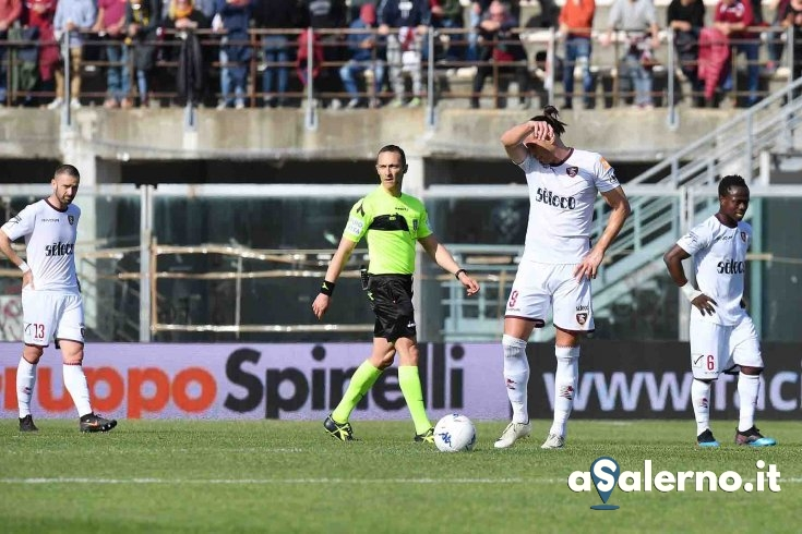 Salernitana, sabato amaranto: a Livorno decide Rocca (1-0) - aSalerno.it