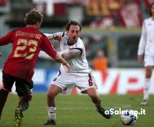 sal : Livorno - Salernitana campionato serie B 2008-09 Nella foto tricarico Foto Tanopress