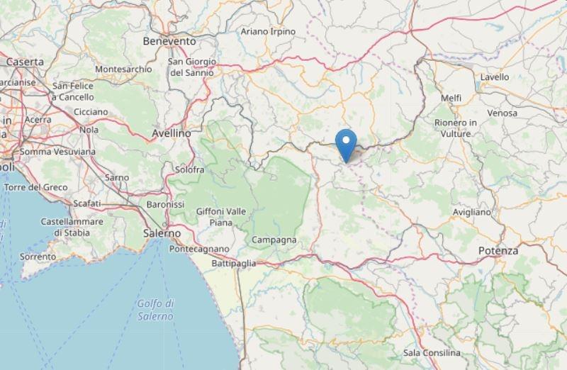 terremoto castel conza