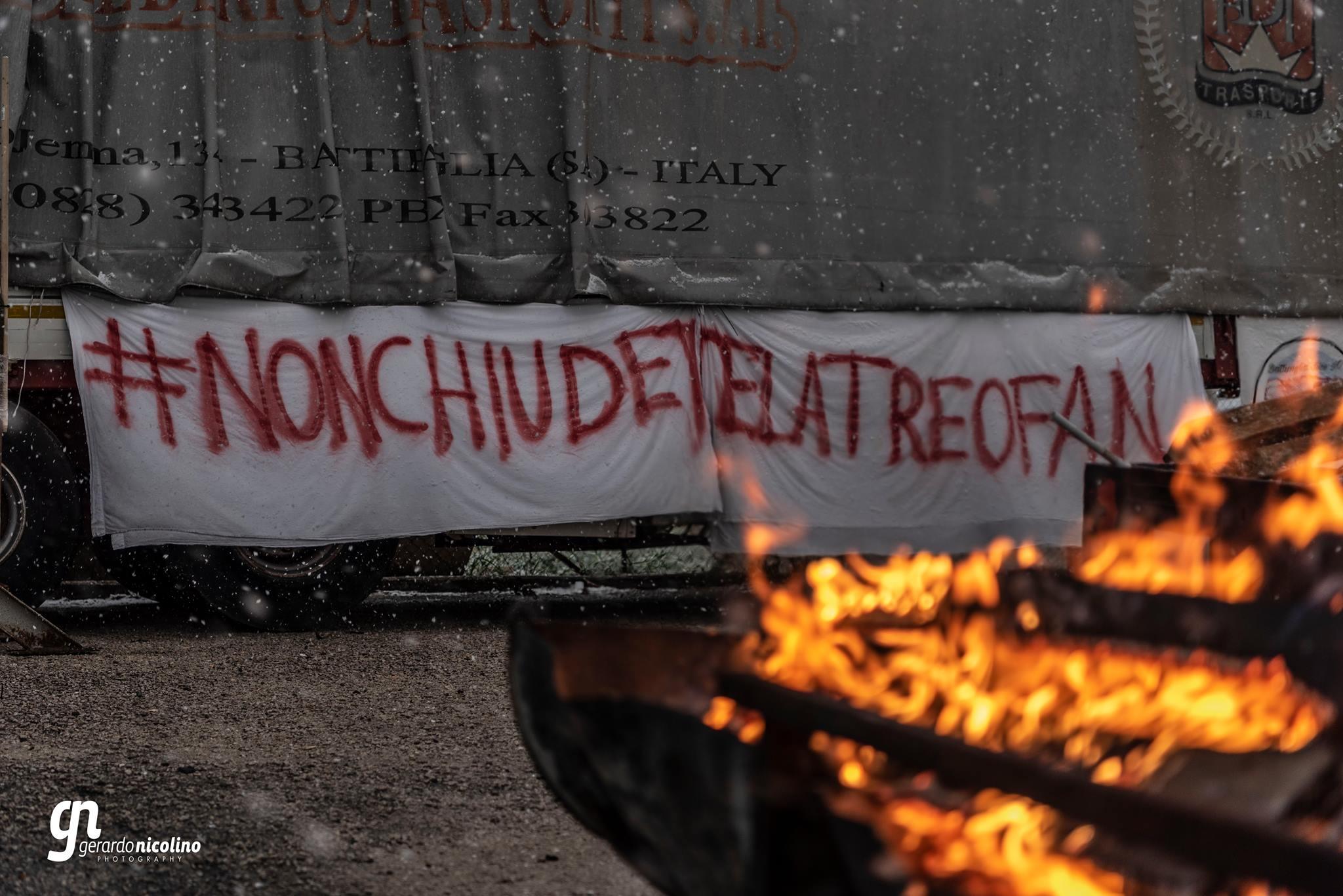 Foto di Gerardo Nicolino | Presidio a Battipaglia.