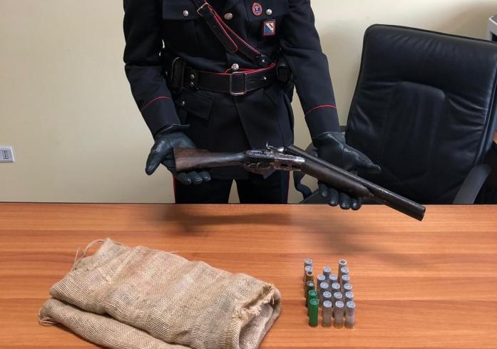 Trovato in casa con un fucile da caccia: arrestato operaio - aSalerno.it