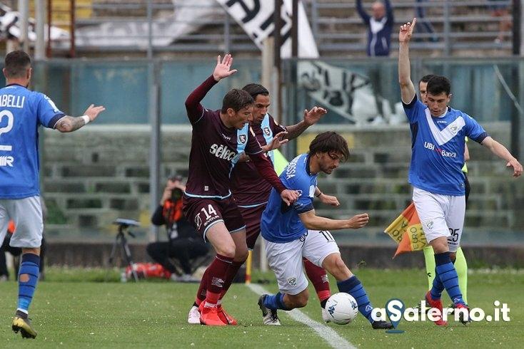 Salernitana colpita da Tremolada e Torregrossa, 2 a 0 Brescia (pt) - aSalerno.it