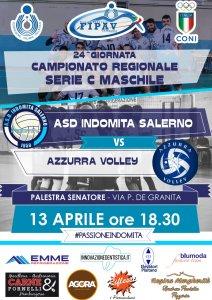 Locandina Indomita - Azzurra Volley